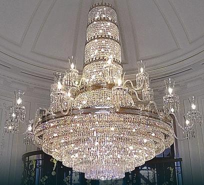 Crystal chandelier, 98 lights, brand new for sale