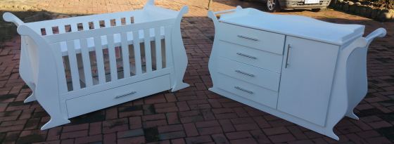 Stunning baby cot and compactum for sale  Johannesburg - Sandton