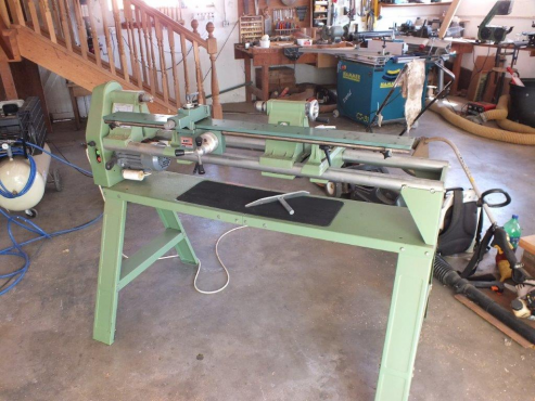 Electra Beckum Wood Turning Lathe With Kity Copy Attachment And
