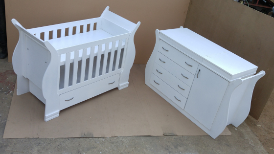 Snow white baby cot and crib, used for sale  Johannesburg - Sandton