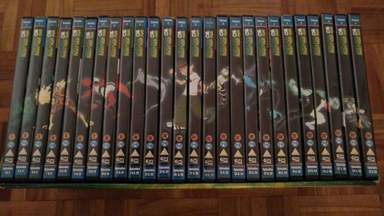 Ben 10 dvd reeks