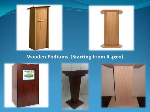 Chapel Podiums