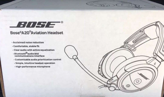 Bose A20 Headset w/ Bluetooth