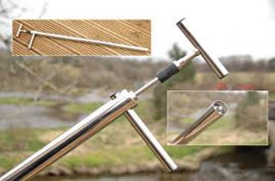 brand new professional custom made stainless steel prawn/bait pumps!