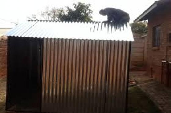 zozo huts sale Gauteng, steel huts Pretoria, 0798603808, garden sheds sale Kempton park