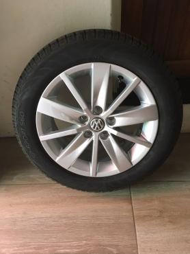 Dunlop Tires plus Mags