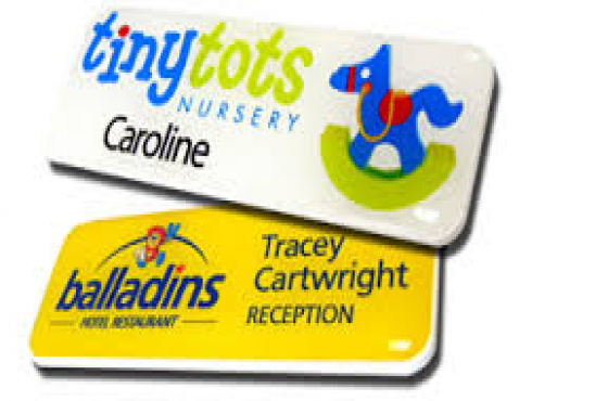 Name Badges at R39.00 each! ( magnetic or pin)