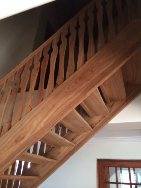 Thanda Thula Staircase, Custom made Staircase, Hard Wood. Beautiful Quality
