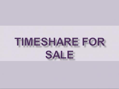 Timeshare for Sale- LIFETIME Points- Flexi @La Montagne