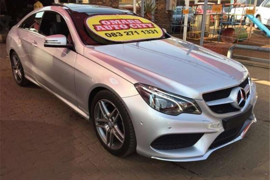 Mercedes Benz E Class E500 Coupe Avantgarde Amg Sports Junk Mail