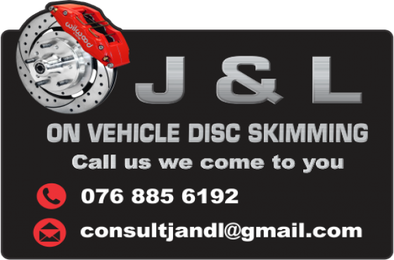 J&L On Vehicle Disc Skimming