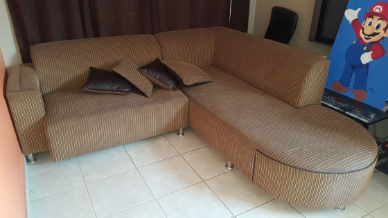 Corner lounge couch