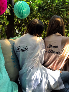Bridal Party Satin Robes With free slippers (Special Promotion)