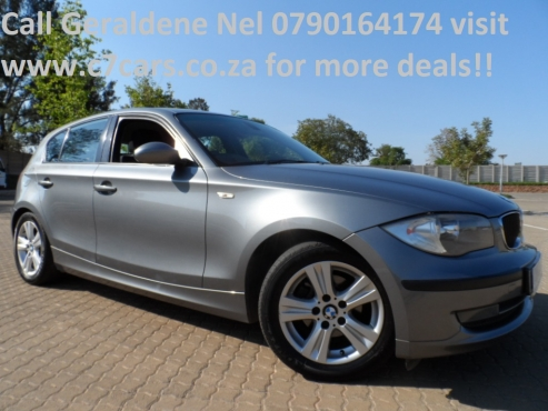 2009 BMW 116i In Excellent Condition with 161000kms Call Geraldene Nel 0790164174