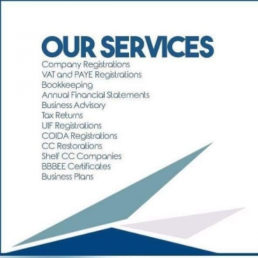 ALL COMPANY REGISTRATION'S DONE FROM R 1 200