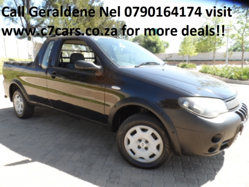 2009 Fiat Strada 1.4 Extra Cab In very good condition Call Geraldene Nel 079 0164 174