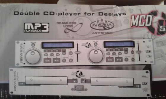 CD Player(double) JB System
