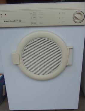 Kelvinator 2 Tumble dryer - in good working order