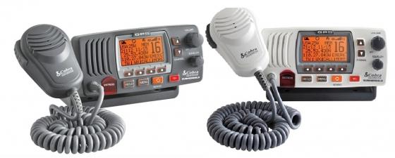 COBRA VHF MARINE BASE TRANSCEIVER WITH GPS