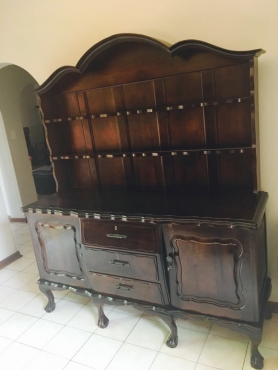 Solid Antique Emboya Ball and Claw wall-unit | Junk Mail