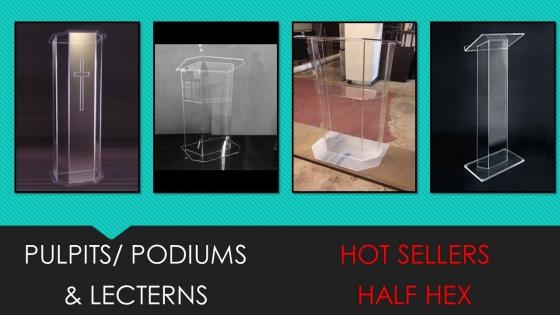 Multi-Purpose Podiums
