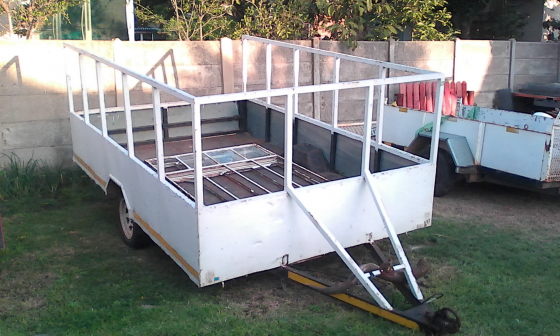 Home Build Single Axle Trailer