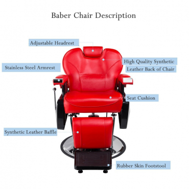 High Quality Professional Hydraulic Barber Chair