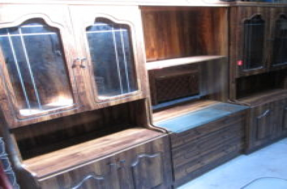 3pc Wooden Wall Unit | Junk Mail