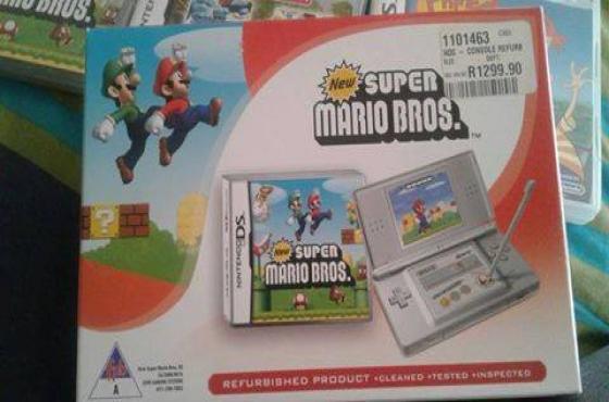 Nintendo DS met 3 games