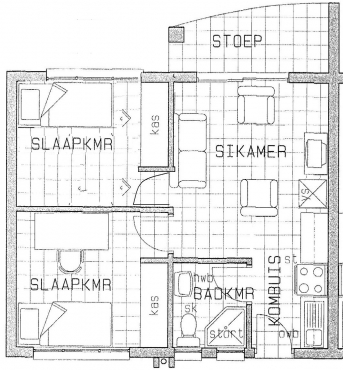 2 Slaapkamer Woonstel loopafstand van NWU en naby winkels