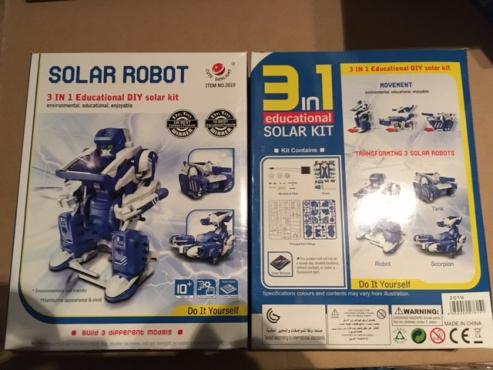 Kids Solar Hobby Kits / Toys - ALL NEW