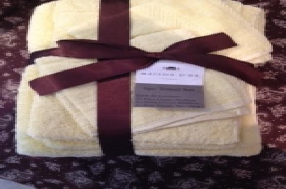 6pcs Maison-dor-towel Set - NEW