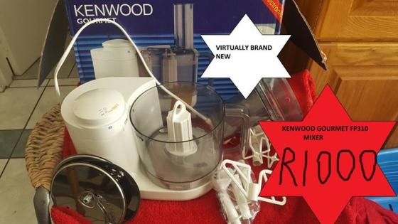 Kenwood Gourmet mixer