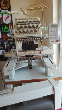INDUSTRIAL EMBROIDERY MASCHINE