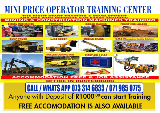Fullyaccredited.Excavatortraining,