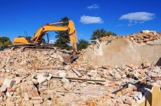 Demolition of Houses, Shops and Swimming randburg