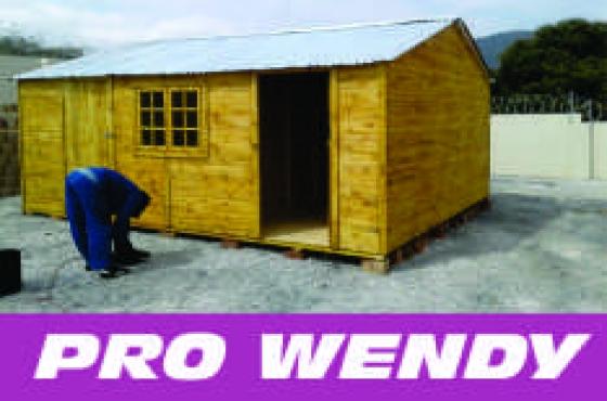 5m x 5m Wendy houses