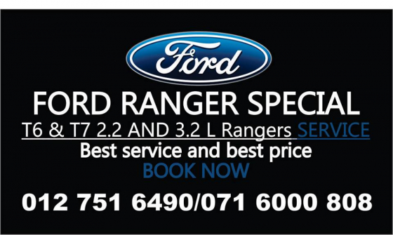 Ford Ranger and Everest Crazy Service specials