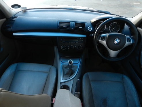 2008 Bmw 1 Series 120i 5-Doors Exclusive 85,000km Hatch Back Manual ...