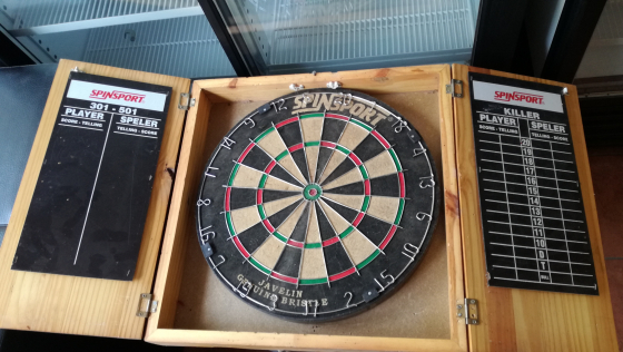SPINSPORT DARTBOARD