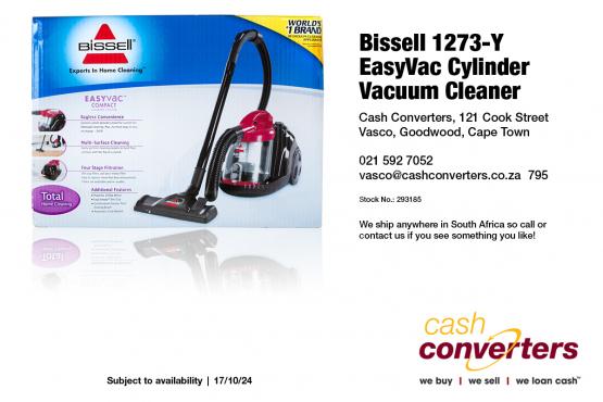 Bissell 1273-Y EasyVac Cylinder Vacuum Cleaner