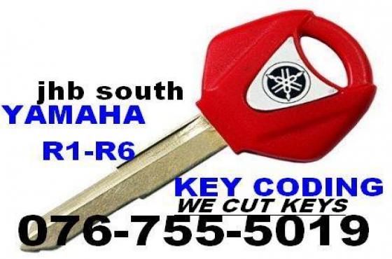 Yamaha Bike key Coding