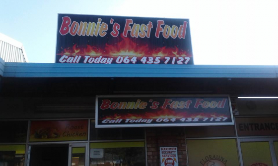 Bonnies Fast Food Take Away