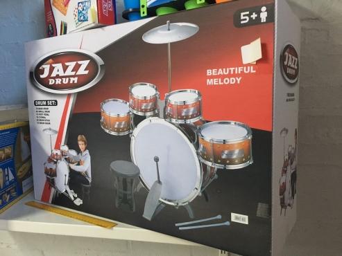 Brand New Kids Drum Set