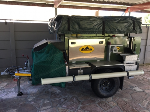 4x4 Off-Road Camping Trailer For Sale