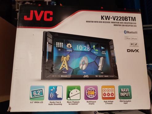 JVC V220BTM RADIO