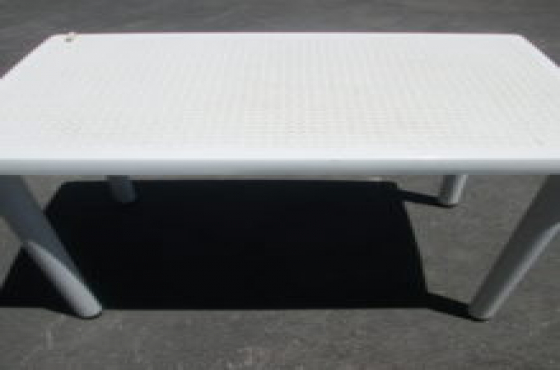 Small plastic table