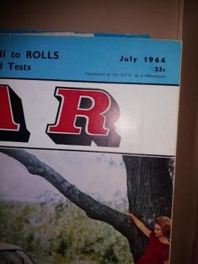 old car magazines
