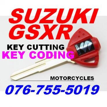 Suzuki GSXR750 key Coding
