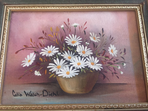Celia Walsh - Diehl (1915 - 1993) Set of 2